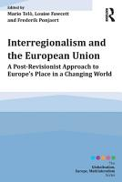 Interregionalism and the European Union PDF
