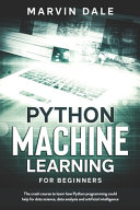 Python Machine Learning For Beginners PDF