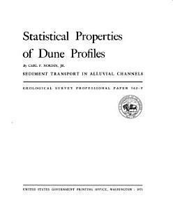 Statistical Properties of Dune Profiles PDF