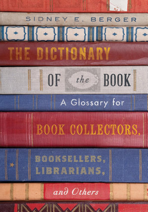 The Dictionary of the Book PDF