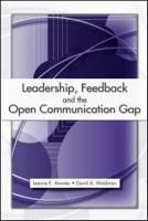 Leadership  Feedback  and the Open Communication Gap PDF