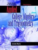 Applied College Algebra and Trigonometry