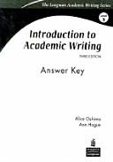 Download Introduction to Academic Writing Book