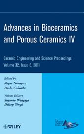 Advances in Bioceramics and Porous Ceramics IV