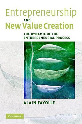 Entrepreneurship and New Value Creation