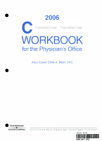 2006 Coding Workbook for the Physician s Office PDF