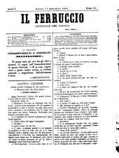 Il Ferruccio giornale del popolo