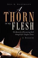 A Thorn in my Flesh