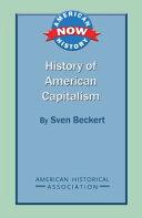 History of American Capitalism