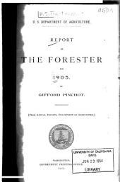 Report of the Forester