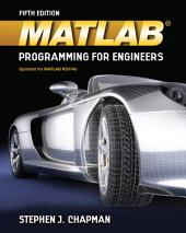 MATLAB Programming for Engineers: Edition 5