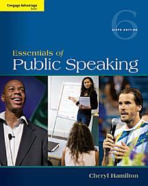 Cengage Advantage Series  Essentials Of Public Speaking