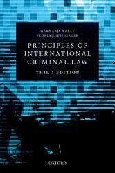 Principles Of International Criminal Law Book PDF