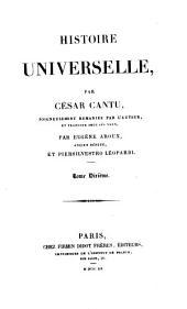 Histoire universelle: soigneusement remaniée par l'auteur