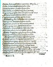 Funera, Latronum rabies, qua mota Megera Factio, lethales, ausisimmunibus ictus intentabat atrox ...