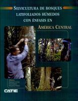 Silvicultura de bosques latifoliados h  medos con   nfasis en Am  rica Central PDF