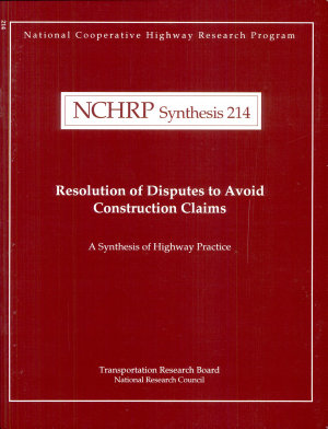 Resolution of Disputes to Avoid Construction Claims