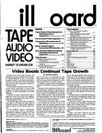 Billboard Tape, Audio, Video Market Sourcebook