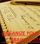 Organize Your Brain: Stress Less, Do More