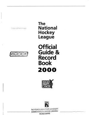 Official Guide   Record Book PDF