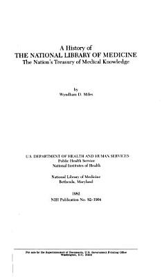 A History of the National Library of Medicine