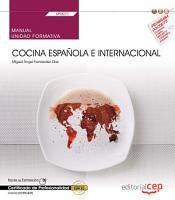 Manual  Cocina espa  ola e internacional  UF0071   Certificados de profesionalidad  Cocina  HOTR0408  PDF
