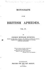 Monograph of the British Aphides