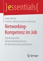 Networking Kompetenz im Job PDF