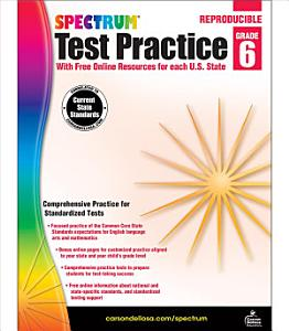 Spectrum Test Practice  Grade 6 PDF