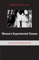 Women s Experimental Cinema PDF