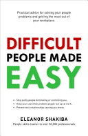 Difficult People Made Easy PDF