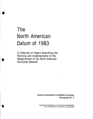 The North American Datum of 1983 PDF