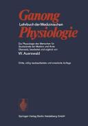 Lehrbuch der medizinischen Physiologie PDF