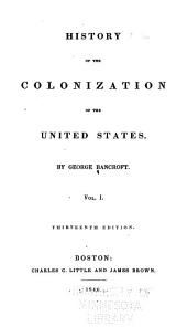 History of the United States of America, from the Discovery of the Continent [to 1789].