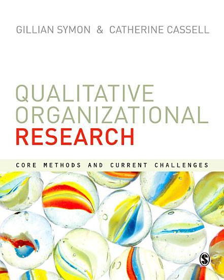 Qualitative Organizational Research PDF