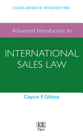 Advanced Introduction to International Sales Law PDF