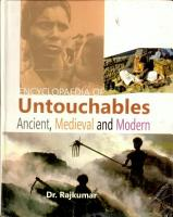 Encyclopaedia of Untouchables Ancient  Medieval and Modern PDF