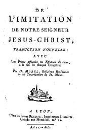 De l'imitation de notre Seigneur Jésus-Christ