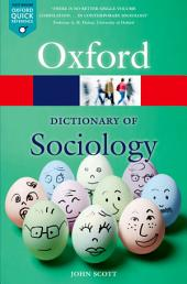 A Dictionary of Sociology: Edition 4