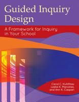 Guided Inquiry Design    A Framework for Inquiry in Your School PDF