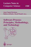 Software Process  Principles  Methodology  and Technology PDF
