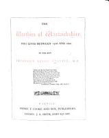 The Worthies of Warwickshire who Lived Between 1500 and 1800 PDF