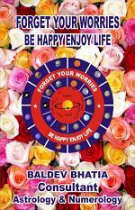 FORGET WORRIES BE HAPPY ENJOY LIFE