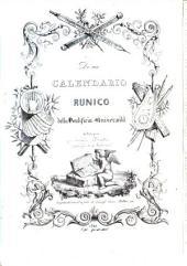Di un Calendario runico della pontificia universita di Bologna