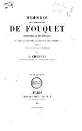 Mémoires sur la vie publique et privée de Fouquet, surintendant des finances: d'après ses lettres et des pièces inédites conservées à la Bibliothèque Impériale, Volume1