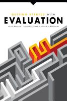 Getting Started with Evaluation PDF