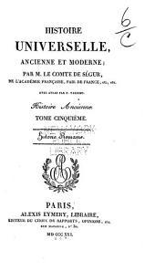 Histoire universelle, ancienne et moderne: Historie romaine