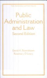 Public Administration And Law Third Edition Book PDF