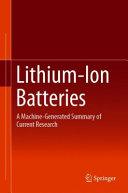 Lithium Ion Batteries PDF