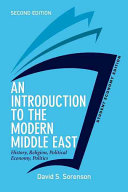 An Introduction to the Modern Middle East  Student Economy Edition